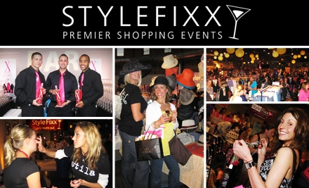 $15 Admission to StyleFixx Premier Shopping Event. Buy Here for Wednesday, October 21. See Below for October 22.