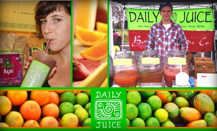 The Daily Juice is on Groupon.com