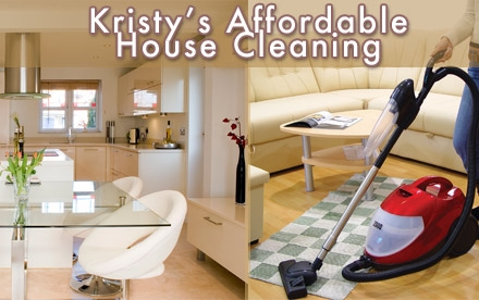 $35 for a Home-Cleaning Service from Kristy's Affordable House Cleaning (Up to $90 Value)