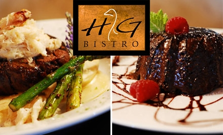$15 for $35 Worth of Fine Casual Fare at HG Bistro