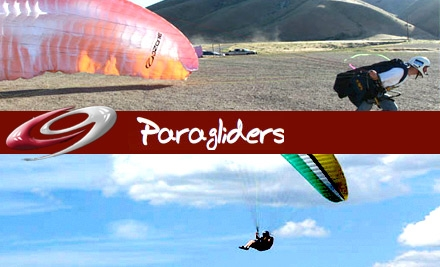 $59 for a Tandem Paragliding Jump from Cloud 9 Paragliding ($95 Value)