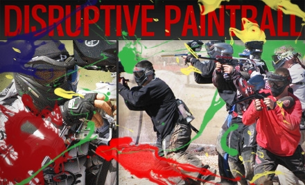 Disruptive-paintball