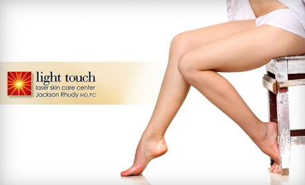 $99 for Three Laser Hair-Removal Treatments at Light Touch Laser Skin Care Center (Up to a $597 Value)