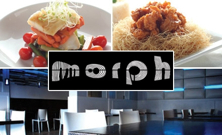 $15 for $30 Worth of Asian Fusion at Morph