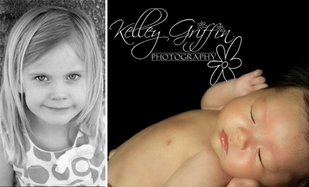 $60 for an On-Site Photo Session Plus $20 Print Credit and 25% Off Additional Prints from Kelley Griffin Photography ($220 Value)