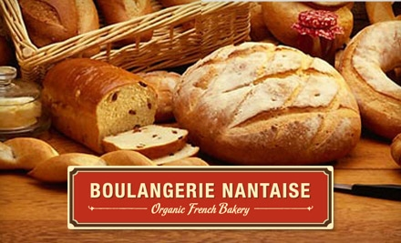 $5 for $10 Worth of Organic, European-Style Baked Goods and Beverages at Boulangerie Nantaise