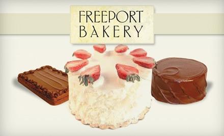 Freeport Bakery Carrot Cake