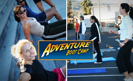 $49 for a Six Class Pass at Salt Lake Adventure Boot Camp for Women (a $120 Value)