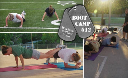 $69 for Four Weeks of Unlimited Boot Camp at Boot Camp 512