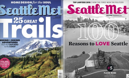 "$8 for a One-Year Subscription to ""Seattle Met"" Magazine ($16.95 Value)"