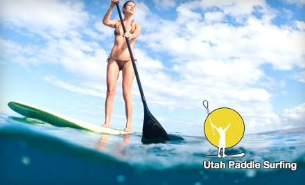 $35 for One Paddle-Board Rental for Two Hours or Two Paddle-Board Rentals for One Hour from Utah Paddle Surfing ($70 Value)