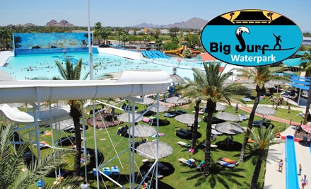 $13 for a Single-Day Pass ($26 Value) or $34 for a Season Pass ($69 Value) at Big Surf Waterpark in Tempe