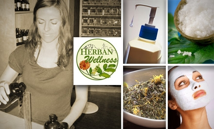 $10 for a Class on Homemade Bath Products or Herbal Remedies at Herban Wellness in Kirkland (Up to $30 Value)