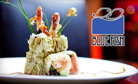 ... of Sushi and Asian Cuisine at Blue Fish Japanese Restaurant and Lounge