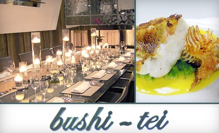 $20 for $40 Worth of French-Japanese Fusion at Bushi-Tei