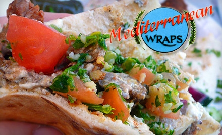 $7 for $15 Worth of Fresh Fare at Mediterranean Wraps