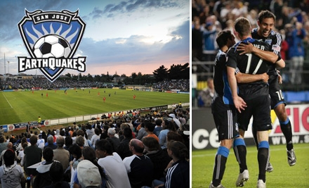 $25 for One Center Circle Ticket to a San Jose Earthquakes Game, Two Coronas and Official Team T-Shirt ($57 Total Value).