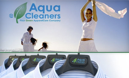 $20 for $40 Worth of Eco-Friendly Dry Cleaning at Aqua Cleaners