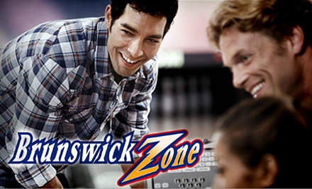 $7 for Two Games of Bowling Plus One Pair of Rental Shoes at Brunswick Bowling in Lynnwood (Up to $14.46 Value)