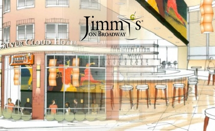 $15 for $35 Worth of Pacific Northwest Fare and Drinks at Jimmy's on Broadway