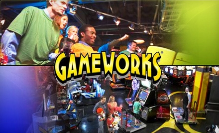 $20 for an All-Day Video-Game Play Pass at GameWorks ($45 Value)