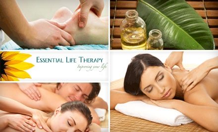 SOLD OUT: $35 for $70 Worth of Massage Services at Essential Life Therapy in Wallingford