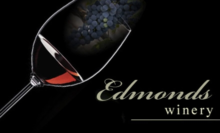 $10 for Wine Tasting and $20 Worth of Bottled Wine at Edmonds Winery in Woodinville ($25 Value)