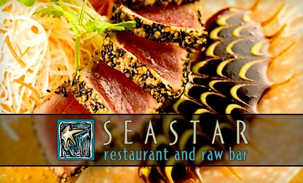 $25 for $50 Worth of Seafood, Raw Fare, Steaks, and More at Seastar Restaurant and Raw Bar