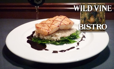 $20 for $40 Worth of Gourmet Cuisine and Drinks at Wild Vine Bistro in Bothell