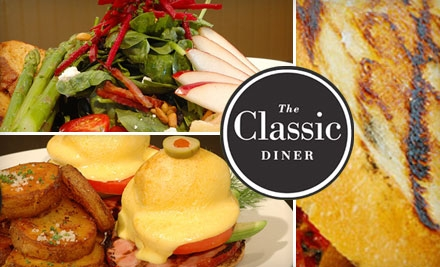 $10 for $20 Worth of Diner Fare and Drink at The Classic Diner in Malvern
