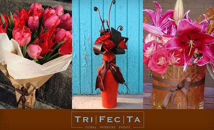 $20 for $45 Worth of Floral Arrangements and Gifts at TriFecTa