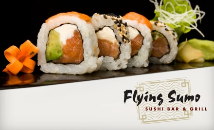 $20 for $50 Worth of Sushi and More at Flying Sumo