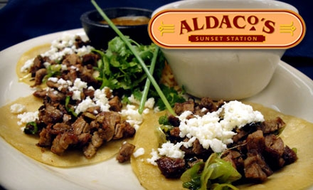 Top restaurant daily deals coupons in san antonio by for Aldacos mexican cuisine