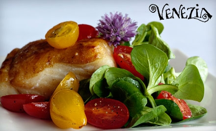 $15 for $30 Worth of Italian Cuisine and Drinks at Venezia in Berkeley