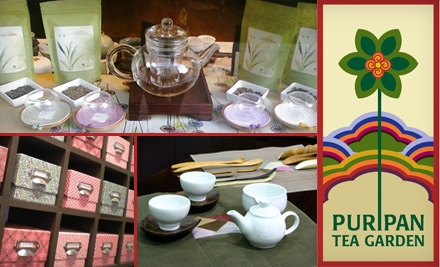 $10 for $20 Worth of Teas and Tea Wares at Puripan Tea Garden