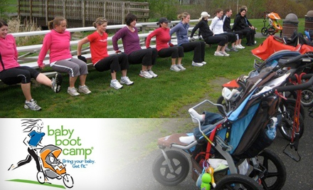 $29 for Four Classes at Baby Boot Camp ($60 Value)