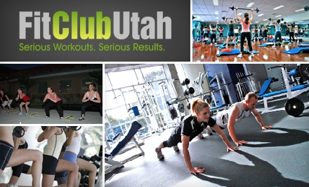 $30 for 30 Days of Boot-Camp Classes at Fit Club Utah (Up to $199 Value)