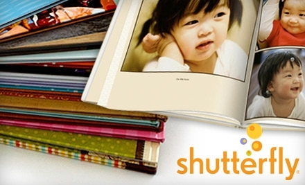"$10 for a 20-Page 8""x8"" Hardcover Photo Book from Shutterfly"