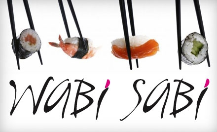 $20 for $45 Worth of Sushi and Japanese Fare at Wabi Sabi Japanese Fusion & Sushi