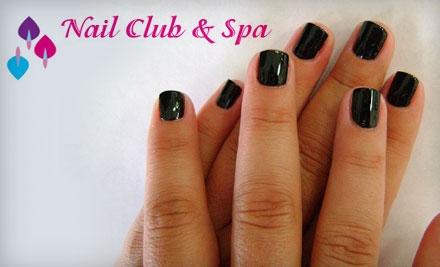 50 for a Shellac Luxury Mani-Pedi at Nail Club & Spa