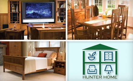 Today 39 s tucson deal 25 for 100 worth of home furnishings at hunter home Home decor stores utah county