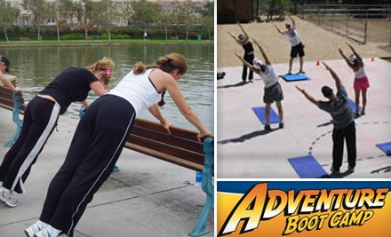 $45 for Six Boot-Camp Sessions at Doylestown Adventure Boot Camp ($124.50 Value) or Great Valley Adventure Boot Camp ($105 Value) Choose from Two Options.