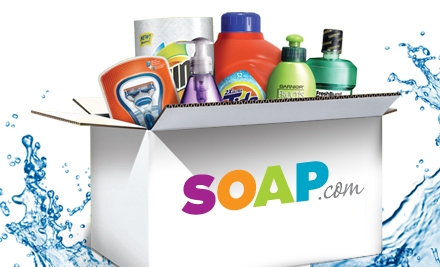 $10 for $20 Worth of Everyday Essentials from Soap.com