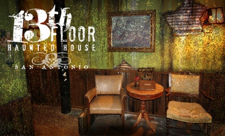 Top haunted daily deals coupons in san antonio by for 13th floor vip tickets