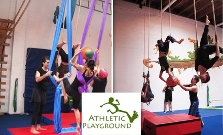$30 for Five Drop-In Classes at Athletic Playground