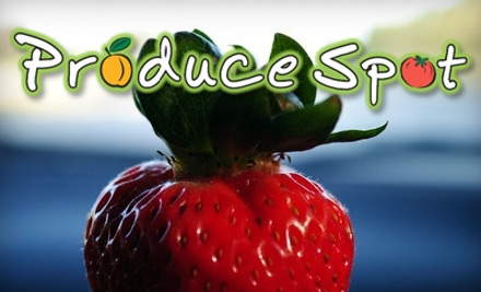 $10 for $20 Worth of Fresh Fruit, Vegetables, and More at Produce Spot