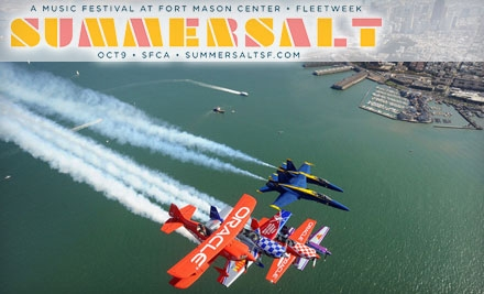 $20 for Two General Admission Tickets to Summersalt Music Festival ($43.36 Value)