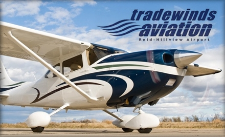 $125 for 12 Private-Pilot Ground Lessons at Trade Winds Aviation ($250 Value)