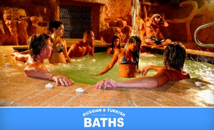 15 For Three Visits To Russian Turkish Baths 90 Value Groupon