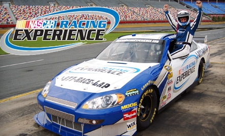 Living the dream at a race car driving school for Charlotte motor speedway driving experience